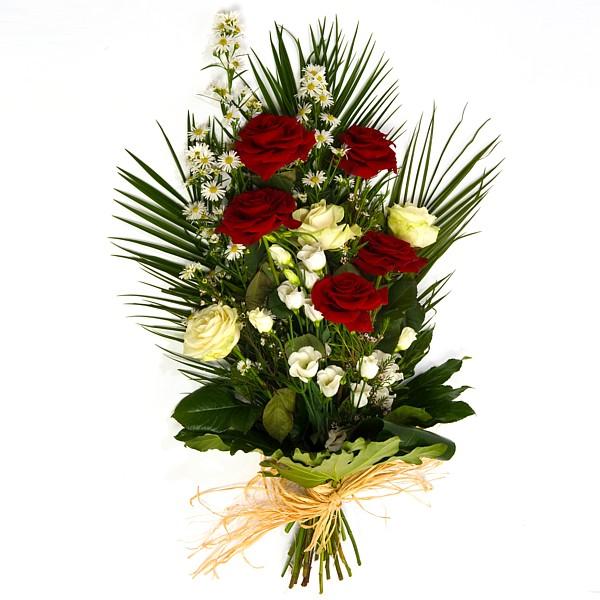 Velvet Rose Sympathy Spray – Irish Florist Bray supplying Dublin ...